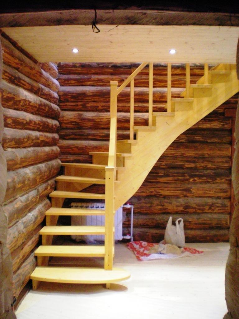 Как недорого сделать лестницу 52